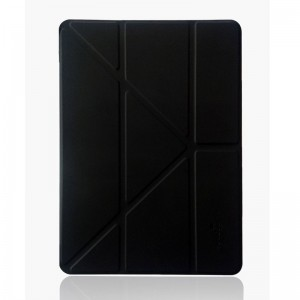 Ipad Pro9.7 case protection sets of magic cut series - black