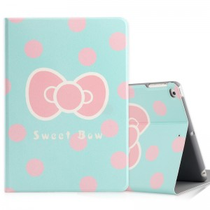 Bow - iPad5 / 6 protective case Air2 holster cartoon
