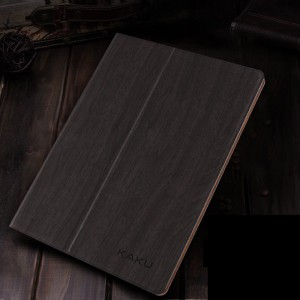 black wood - Air2 flat shell iPad6 with intelligent sleep