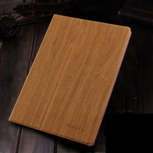 Yellow wood - Air2 flat shell iPad6 with intelligent sleep
