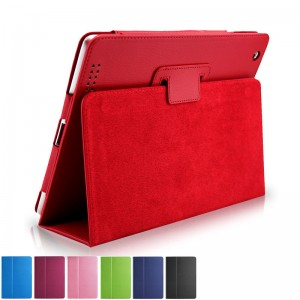 Red iPad5 protective cover holster iPad air 2 case air1 protective case
