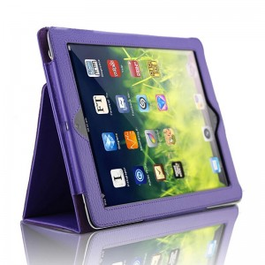 Purple iPad5 protective cover holster iPad air 2 case air1 protective case