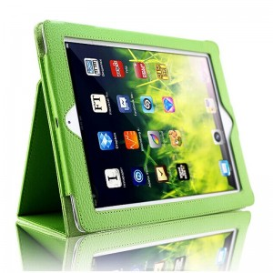 Green iPad5 protective cover holster iPad air 2 case air1 protective case