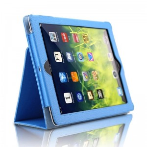Blue iPad5 protective cover holster iPad air 2 case air1 protective case