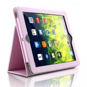 Pink iPad5 protective cover holster iPad air 2 case air1 protective case