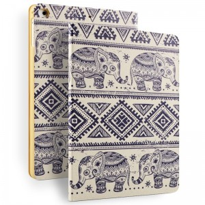Painted elephant - iPad Air 2 / air case cartoon painted case