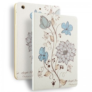 Watercolor flowers - iPad Air 2 / air case cartoon painted case