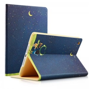 Moonlight couple - iPad Air 2 / air case cartoon painted case