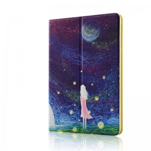fantasy sky - Apple iPad air2 protective case iPad5 / 6 leather case