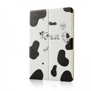 Small cow - Apple iPad air2 protective case iPad5 / 6 leather case