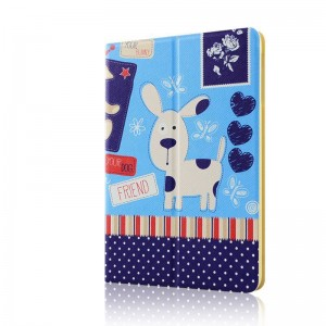 Snotty dog - Apple iPad air2 protective case iPad5 / 6 leather case