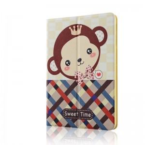 Shy monkey - Apple iPad air2 protective case iPad5 / 6 leather case