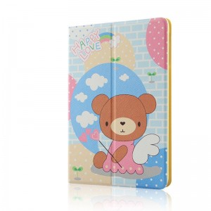Angel Bear - Apple iPad air2 protective case iPad5 / 6 leather case