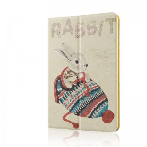 Hat rabbit - Apple iPad air2 protective case iPad5 / 6 leather case