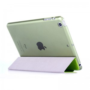 Green - iPad protection cover Apple Tablet PC shell flip bracket