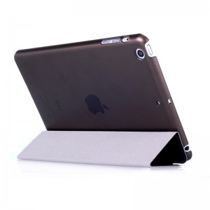 Black - iPad protection cover Apple Tablet PC shell flip bracket