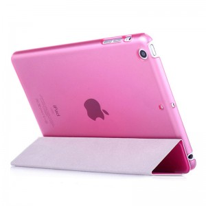 Rose - iPad protection cover Apple Tablet PC shell flip bracket